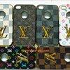 เคสขอบทองหุ้มหนัง Louis Vuitton iphone 4/4s