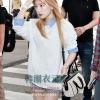 เสื้อแขนยาวมิคกี้เม้าส์ สีขาว แบบ Taeyeon