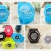นาฬิกาข้อมือซิลิโคน EXO (ver.2)