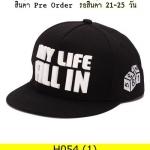 หมวก Hiphop แฟชั่น ราคาถูก รหัส H054
