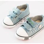 รองเท้าเด็กแฟชั่น สีฟ้า แพ็ค 5 คู่ ไซส์ 21-22-23-24-25