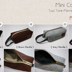 Mini Cosmetic Bag (ซื้อทุกสีได้ที่นี่)