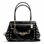 PRE-ORDER COACH MADISON MADELINE EAST/WEST SATCHEL IN TWO-TONE PYTHON EMBOSSED LEATHER
