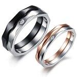 แหวนคู่รัก ราคาถูก รหัส 382 ( Per ordre )