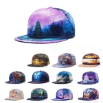 หมวกแฟชั่น hiphop 3 D