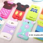 เคส HTC Butterfly X920D ซิลิโคนด้านหลังของมินนี่ มิกกี้ หมีพูห์ เดซี่ โดนัลด์ ไมค์ แซลลี่ เคสมือถือ ขายปลีก ขายส่ง ราคาถูก