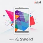 แท็บเล็ต Ainol Numy 3G Sword สีขาว Tablat pc Quad Core MTK 8382 โทรได้