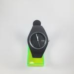 นาฬิกาแฟชั่น ice สายซิลิโคน สีดำ