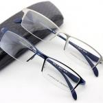 กรอบแว่นตา Porsche P9111 กรอบสีเงิน 55-17-145