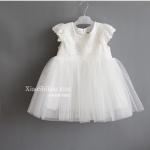 ชุดกระโปรง สีขาว แพ็ค 5ชุด ไซส์ 7-9-11-13-15