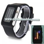 นาฬิกาแฟชั่น LED Multicolour Light