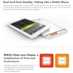 Ainol Numy 3G Vegas cpu MTK8312 dual core 1.2GHz โทรออกได้