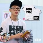 เสื้อแฟชั่นเกาหลี เสื้อยืด iKON YG BOBBY HBA