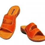 รองเท้า บาจา comfit เย็บข้าง สีน้ำตาลอิฐ