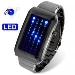 นาฬิกาข้อมือแฟชั่น LED เท่ๆ รุ่น The Matrix สินค้า Pre order รอสินค้า 15 - 25 วัน