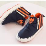 รองเท้าเด็กแฟชั่น สีกรม แพ็ค 6 คู่ ไซส์ 25-26-27-28-29-30