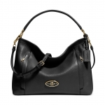 preorder COACH SCOUT HOBO IN PEBBLE LEATHER Style No: 34312