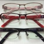 กรอบแว่นตา Levi's 7102 51#17-135 เทาดำ แดง ชมพู