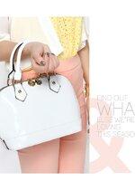 กระเป๋าแฟชั่น Axixi - 135 สี White (พร้อมส่ง )