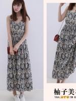 Pre เดรส YOZI  AF920 เสื้อผ้าแฟชั่นเกาหลีราคาถูก