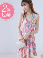 Pre  เดรส YOZI  AI046 เสื้อผ้าแฟชั่นเกาหลีราคาถูก