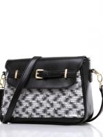 กระเป๋าแฟชั่น Axixi - 193 สี Black (Free จัดส่ง)