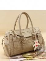 กระเป๋าแฟชั่น XC - 003 สี Gray  (FREE จัดส่ง)