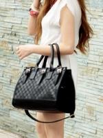 กระเป๋าแฟชั่น Axixi - 007 สีดำ (Free จัดส่ง)