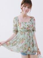 Pre  เสื้อ YOZI  AF812 เสื้อผ้าแฟชั่นเกาหลีราคาถูก
