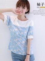 Pre  เสื้อ YOZI  AG984 เสื้อผ้าแฟชั่นเกาหลีราคาถูก