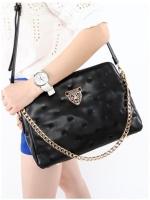 กระเป๋าแฟชั่น Axixi - 118 สีดำ (พร้อมส่ง)