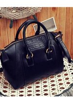 กระเป๋าแฟชั่น Maomaobag - 021 สีดำ (FREE จัดส่ง)