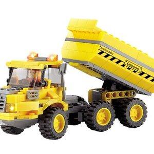 ก่อสร้าง (Construct) K-8043. ตัวต่อเลโก้จีน รถบรรทุก