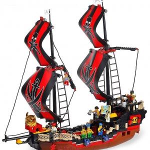 โจรสลัด (Pirate) S-0129. เรือโจรสลัดกระโดงคู่แดงดำ