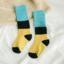ถุงเท้ายาว แบบที่5 แพ็ค 12คู่ ไซส์ M (ประมาณ 3-5 ปี) thumbnail 1