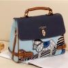 PreOrder กระเป๋า AXIXI รหัส AI0098 กระเป๋าแฟชั่นเกาหลี (สีฟ้า - สีน้ำตาล)