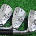 TAYLORMADE TP MB FORGED IRONS #8, #9 & PW /GRAPHITE FLEX S