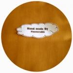 K001-1154 GOLD :ผ้าพื้นอเมริกา 100% cotton 1 จำนวน =ขนาด1/8 หลา : 25-27.5 X 45 cm