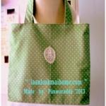 HMLMshop52 : กระเป๋าผ้าแฮนด์เมด ฺMade by Pimwaradda. ค่ะ