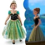 ชุดเจ้าหญิง Anna Frozen Size 100 - 140