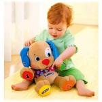 ในห้างเกือบ 2000 บาท Fisher-Price Laugh and Learn To Play Puppy Plush Dog Toy (สินค้าของแท้ ของใหม่  ไม่มีกล่องให้ กล่องเยินจากการขนส่ง) มีคลิปวีดีโอสาธิตสินค้าให้ดูค่ะ