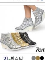 [PRE-ODER] รองเท้าผ้าใบส้นสูง 7 CM [Made in Korea]