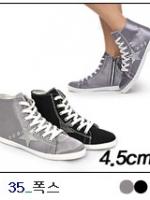 [PRE-ODER] รองเท้าผ้าใบส้นสูง 4.5 CM [Made in Korea]