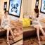 เดรสแฟชั่นเข้ารูปเสื้อแขนกุดคอวีผ้านิตติ้ง(ไหมพรม)เนื้อดีลายตาราง มี 2 สี ดำ+ขาว / เทา+ขาว thumbnail 19