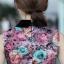 Prenair เดรสออกงานเข้ารูปคอปกแขนกุดลายดอกกุหลาบสีสวยเชียวค่ะใส่ออกงานได้มีไซส์ S,M,L thumbnail 11