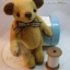 ตุ๊กตาหมีผ้าขน caramel ขนาด 14 cm. - Herbie thumbnail 4