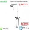 ชุดชำระล้างพร้อมอ่างล้างตา รุ่น EWC-201 (A-SAFE COMBINATION SHOWER&EYE WASH)