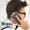 (666-002)เคสมือถือซัมซุง Samsung Galaxy Mega2 เคสนิ่มขอบทองพื้นลายหนัง
