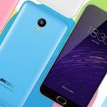 สินค้า Pre Order : Meizu M2 Note 16GB - ขาว เทา ฟ้า