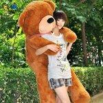 ตุ๊กตาหมีหลับ สีน้ำตาลเข้ม ขนาด 1.8 m.